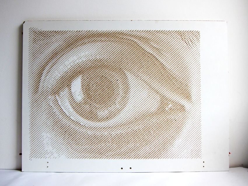 Esher Eye - by Snijlab for Upstyle Industries
