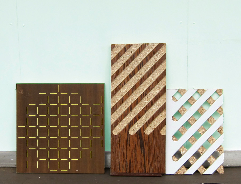 routed panels - by Franck Poulain for Upstyle Industries
